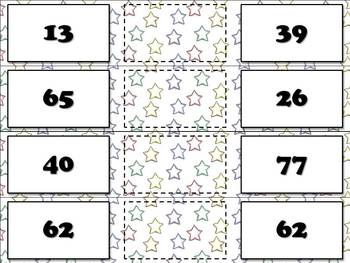 Place Value: Compare Whole Numbers Matching Game Sort - King Virtue