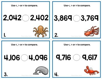 Place Value Comparing Numbers
