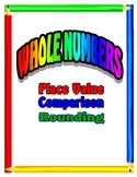 Place Value, Comparing Numbers, Rounding Numbers Lesson Unit