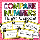Comparing Numbers Task Cards (Digital and Paper Version)