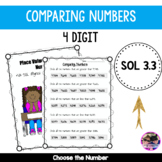 Place Value - Comparing Numbers VA SOL 3.1