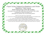 Place Value, Comparing Numbers, and Order Numbers Task Car