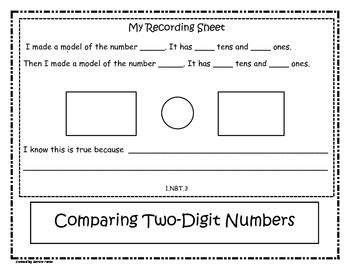Comparing Two-Digit Numbers