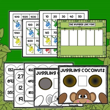 1/2 OFF! Place Value, Comparing and Ordering Numbers, Centers and Worksheets