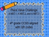 Place Value, Comparing, and Rounding Task Card Set