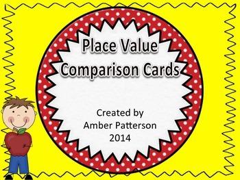 Place Value Comparisons