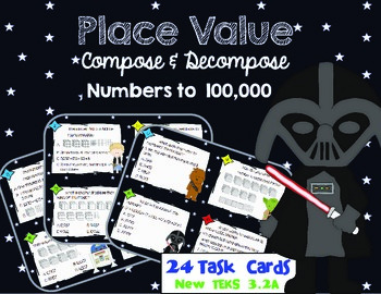 Place Value Compose & Decompose Numbers by Marvel Math