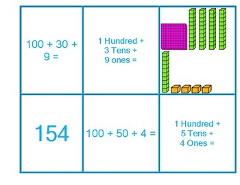 Place Value Concentration Game 4