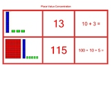 Place Value Concentration Game C
