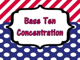 Place Value Concentration with Three Digit Numbers