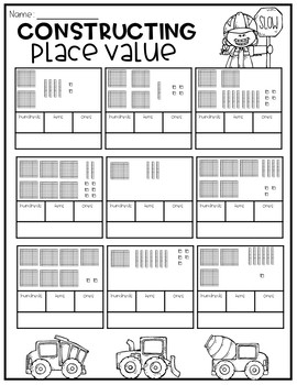 Place Value Construction