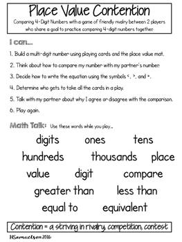Place Value Contention (4.NBT.2)