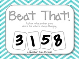 Place Value Cooperative Learning Game