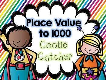 Place Value Cootie Catcher