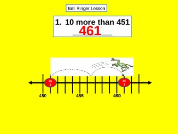 Place Value: Count Forward and Count Back by 10 and 100 for Visual Learners