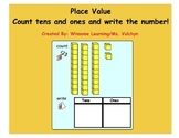 Place Value Count with Base Ten Blocks