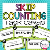 Skip Counting Task Cards (Digital and Paper Version)