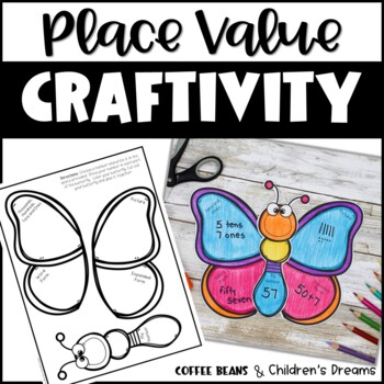 Place Value Craft: Butterfly