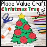 Christmas Craft | Place Value Holiday Tree | Christmas Mat
