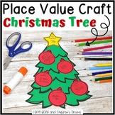 Christmas Craftivity Place Value Tree