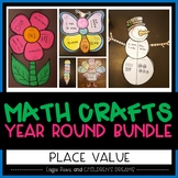 Place Value Craft: Year Round Bundle
