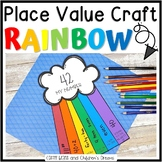 Place Value Craft: Rainbow