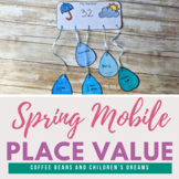 Place Value Craft: Spring Mobile