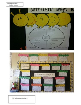 Place Value Craftivity and Assessment