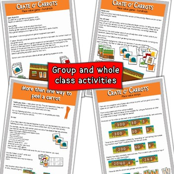 Place Value Crate o' Carrots
