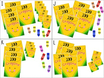 Place Value Crayons Freebie