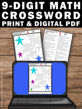 place value worksheet math crossword puzzle by promoting success. Black Bedroom Furniture Sets. Home Design Ideas