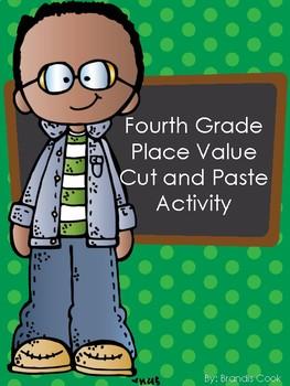 Place Value Cut & Paste Activity