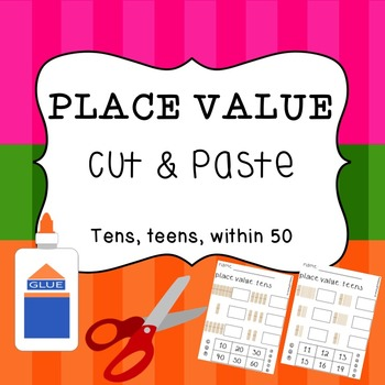 Place Value - Cut and Paste Activity