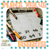 Place Value Cut and Paste aligned with Math TEK 1.2C