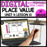 Place Value | DIGITAL TASK CARDS | PRINTABLE TASK CARDS