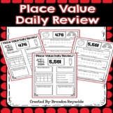 Place Value Daily Review