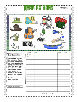 Place Value Worksheets 5th Grade Word Problems with Decimals