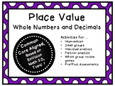 Place Value: Decimals!