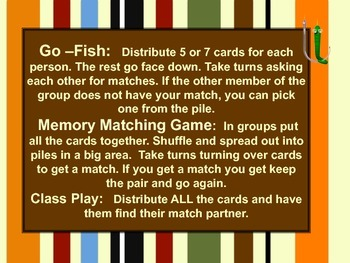 Place Value Decimals Math Game - Memory and Go Fish!
