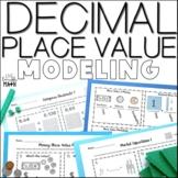 Decimal Place Value Modeling