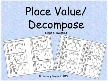 Place Value/Decompose