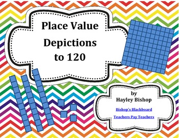 Place Value Depictions to 120