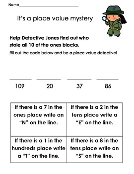 Place Value Detective