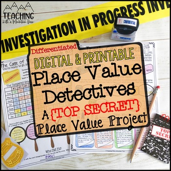 Place Value Project   Distance Learning   Google Classroom