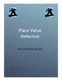 Place Value Detective game - tens and ones version