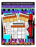 Place Value-Different ways to Represent Numbers-Tens- Grades 1-2 (1st-2nd Grade)