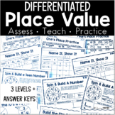 Place Value Practice - Differentiated
