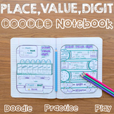 Place, Value, and Digit  Interactive Notebook