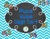 Place Value Digit Sort