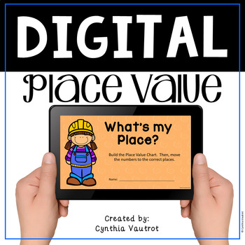 Place Value Digital Activity with Google Slides